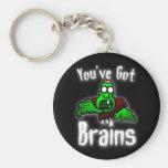 You've Got Brains Key Chain