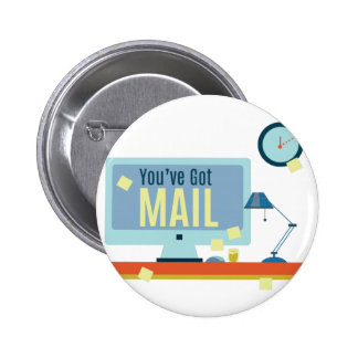Youve Got Mail 2 Inch Round Button