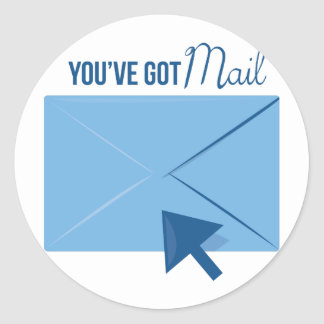 Youve Got Mail Classic Round Sticker