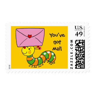 You've got mail stamps