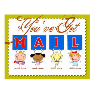 You've got mail! post cards