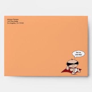 You've Got Mail Superhero Envelope