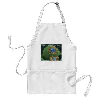 You've got some nerve adult apron