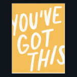"You&#39;ve Got This Postcard<br><div class=""desc"">Encouraging postcard for a friend!</div>"