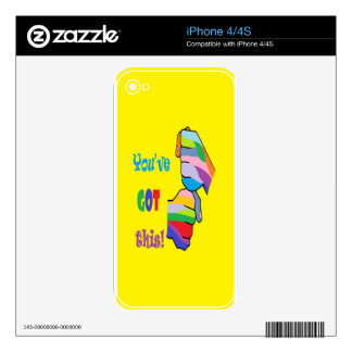You've Got This Skin For iPhone 4