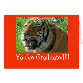 You've Graduated!!! Card