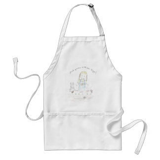 You've grown a whole year bigger! adult apron