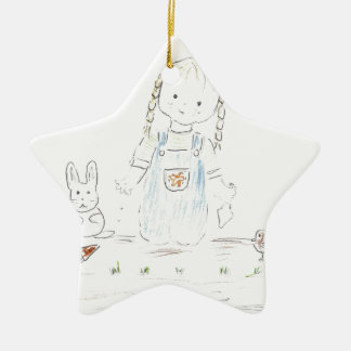 You've grown a whole year bigger! ceramic ornament