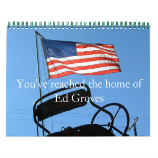 You've reached the home of Ed Groves Calendar