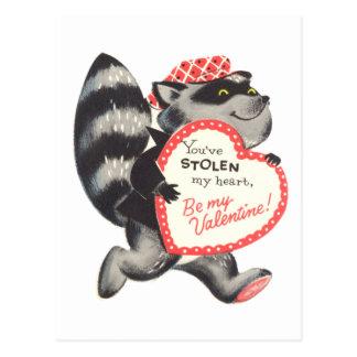 You've Stolen my Heart Postcard