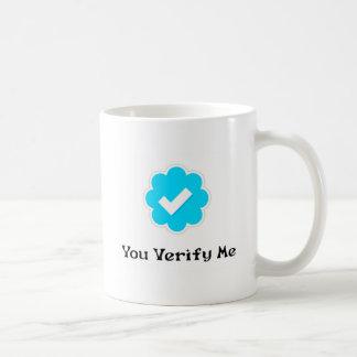 YouVerifyMe Coffee Mug