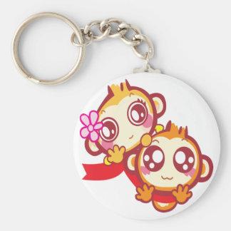 YoYo & CiCi Basic Round Button Keychain