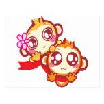 YoYo & CiCi Post Card