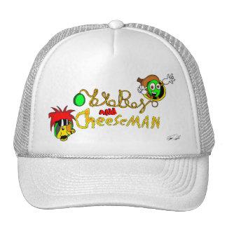 yoyoboy and cheeseman trucker hat