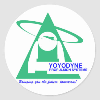 Yoyodyne Propulsion T-Shirt Classic Round Sticker
