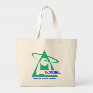 Yoyodyne Propulsion T-Shirt Large Tote Bag