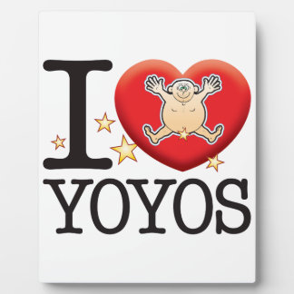 Yoyos Love Man Plaque