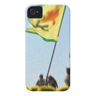 YPG - Kurdish Freedom Fighters of Kobani v2 iPhone 4 Case