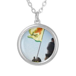 YPG - Kurdish Freedom Fighters of Kobani v2 Silver Plated Necklace