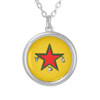 ypg logo 2 silver plated necklace