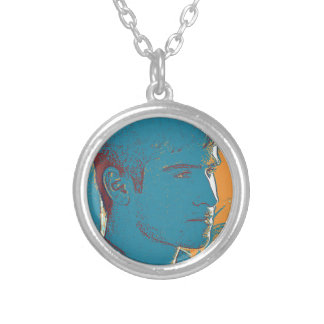 YPG Soldier 2 art Silver Plated Necklace