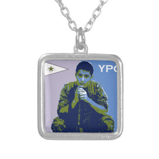 YPG Soldier 4 art 3 Silver Plated Necklace