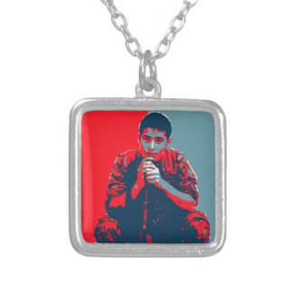 YPG Soldier 4 art Silver Plated Necklace