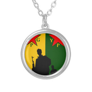 ypg-ypj 2 silver plated necklace