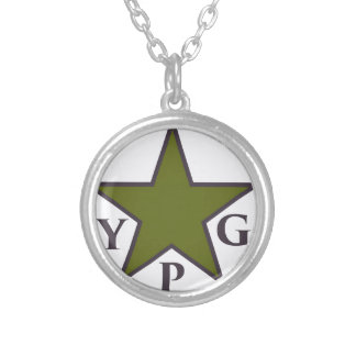 ypg-ypj 3 silver plated necklace