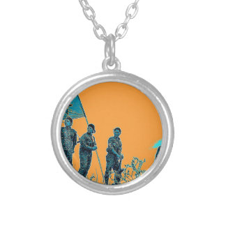 YPJ art 2 Silver Plated Necklace