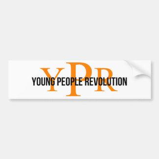 YPR Bumper sticker