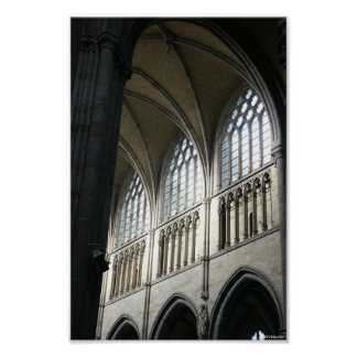 Ypres Cathedral Poster
