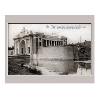 Ypres Menin Gate Memorial for British right view Postcard