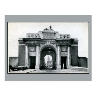 Ypres Menin Gate Memorial for the British front Postcard