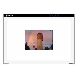 """Ypsilanti Water Tower 17"""" Laptop Decal"""