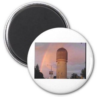 Ypsilanti Water Tower 2 Inch Round Magnet