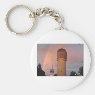Ypsilanti Water Tower Basic Round Button Keychain
