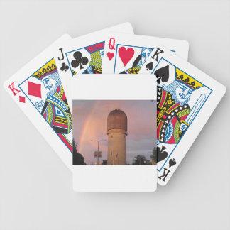 Ypsilanti Water Tower Bicycle Playing Cards