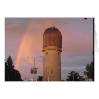 Ypsilanti Water Tower Greeting Card