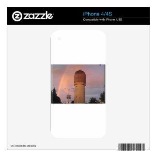 Ypsilanti Water Tower iPhone 4 Skins