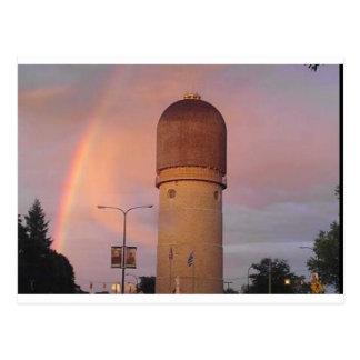 Ypsilanti Water Tower Postcard
