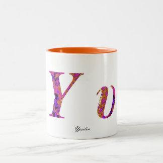 YPSILON Two-Tone COFFEE MUG