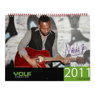 YRAC Annual Calendar by MalikaB [New Years 2011]