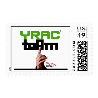 YRAC TEAM: Official Staff Postage Stamp!