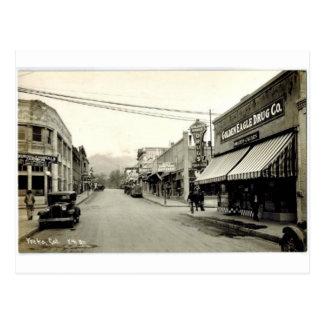 Yreka, California Postcard