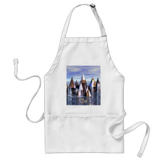 Ys Rising From The Sea Apron - CricketDiane Standard Apron