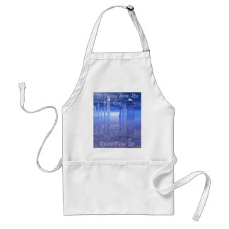 Ys Rising From The Sea by CricketDiane Adult Apron
