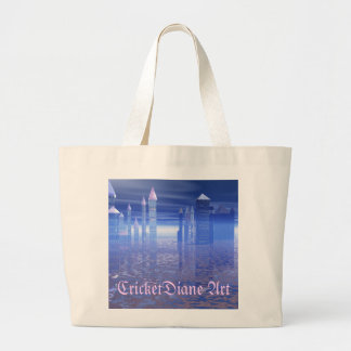 Ys Rising From The Sea by CricketDiane Canvas Bags