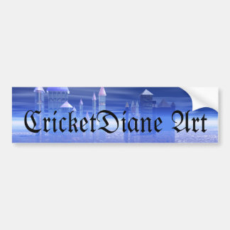 Ys Rising From The Sea by CricketDiane Bumper Stickers