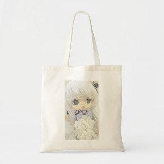 'Ysabelle' Anime Doll tote bag